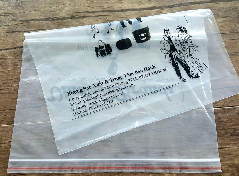 Nâng cao giá trị sản phẩm với mẫu túi zipper may mặc